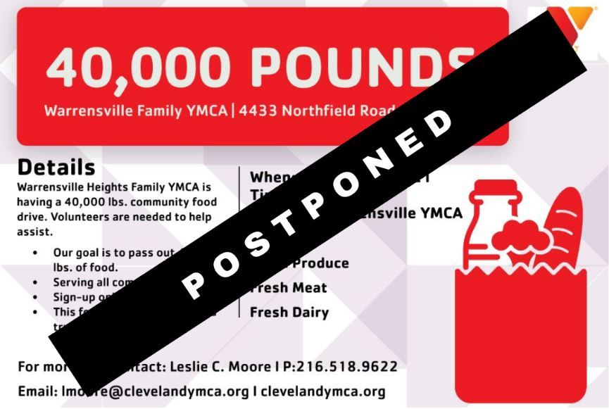 40000 pounds postponed