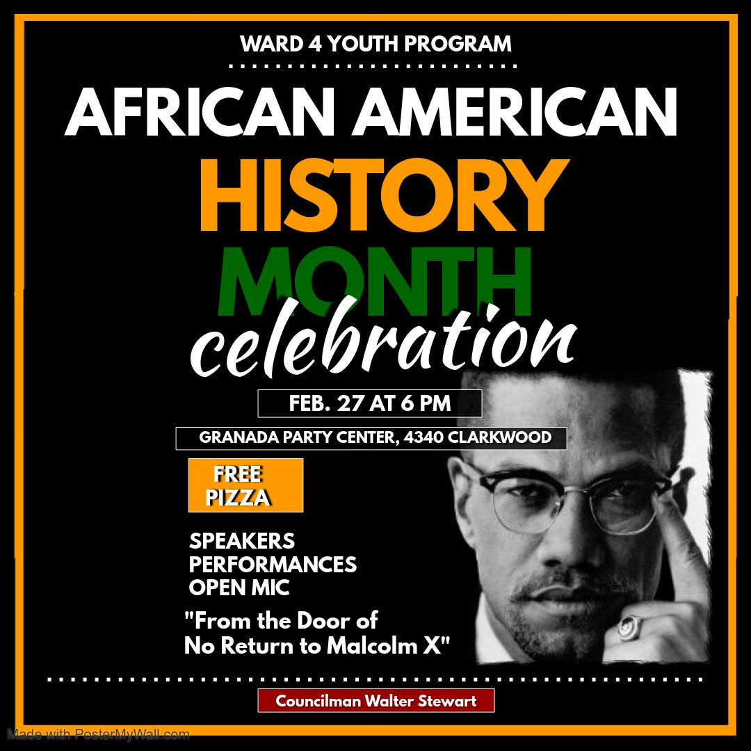African American History Flyer for Social Media